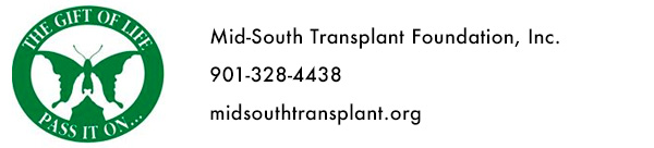 Sponsor: Mid-South Transplant Foundation, Inc.